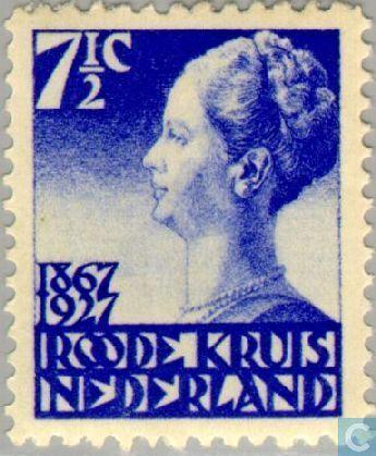 Stamps - Netherlands [NLD] - Red Cross 1927