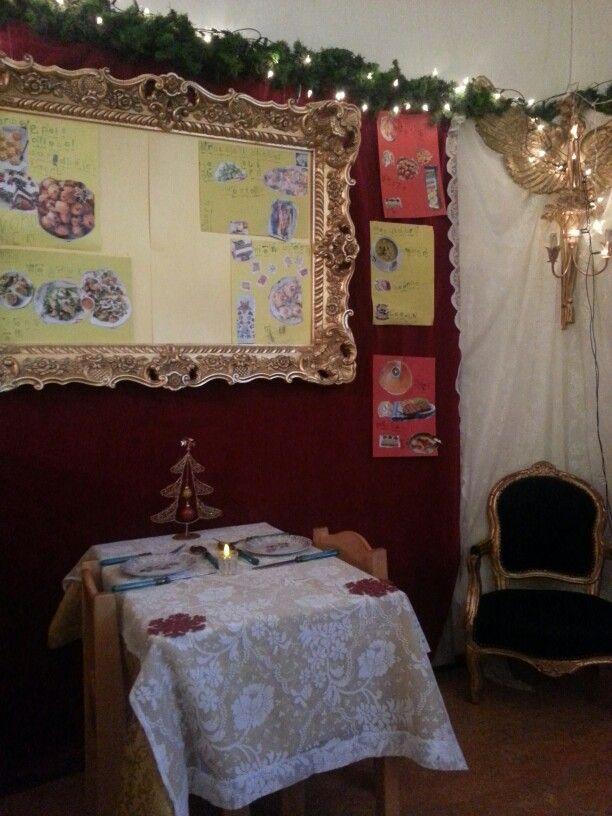 Themahoek kerst restaurant