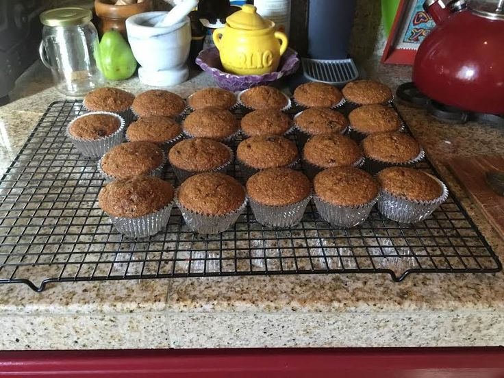 """I have loved Bran Muffins ever since I was a kid. Mom used to buy them from Van De Kamp's Bakery. This is a very moist version of what I remember. I have used buttermilk and applesauce to ensure that they don't turn out dry and mealy, as many bran muffins can be. I use """"Grandma's Molasses""""...don't use blackstrap. I also use regular buttermilk...don't use reduced fat (it's like water). You could add nuts to the recipe, if you wish. The yield would increase to up to 24 muffins. Freeze some…"""