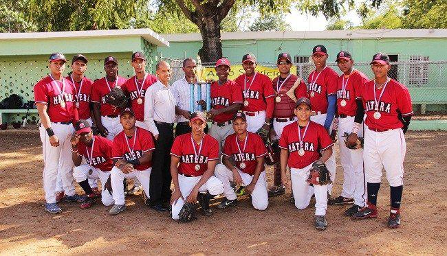 Liga Natera se corona campeón torneo de béisbol juvenil del DN