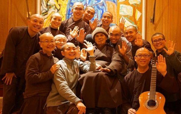 Beloved Buddhist Leader Thich Nhat Hanh Returns to Plum Village