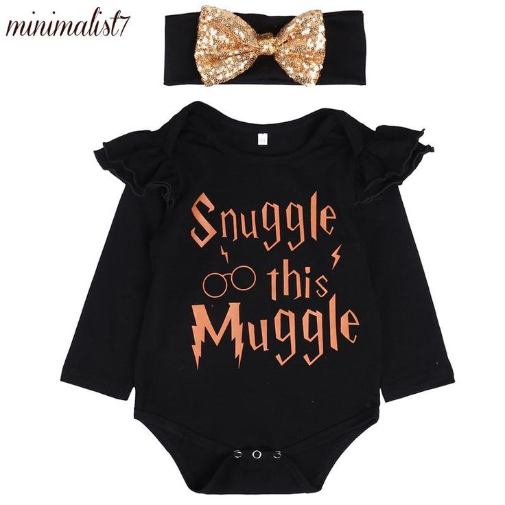 Snuggle This Muggle Romper Set – Baby Girls   – Inspiration 3.0