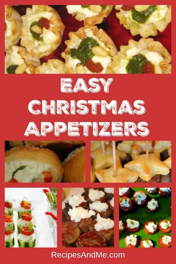 Easy Christmas Appetizers for Everyone ☕️Recipes And Me Blog