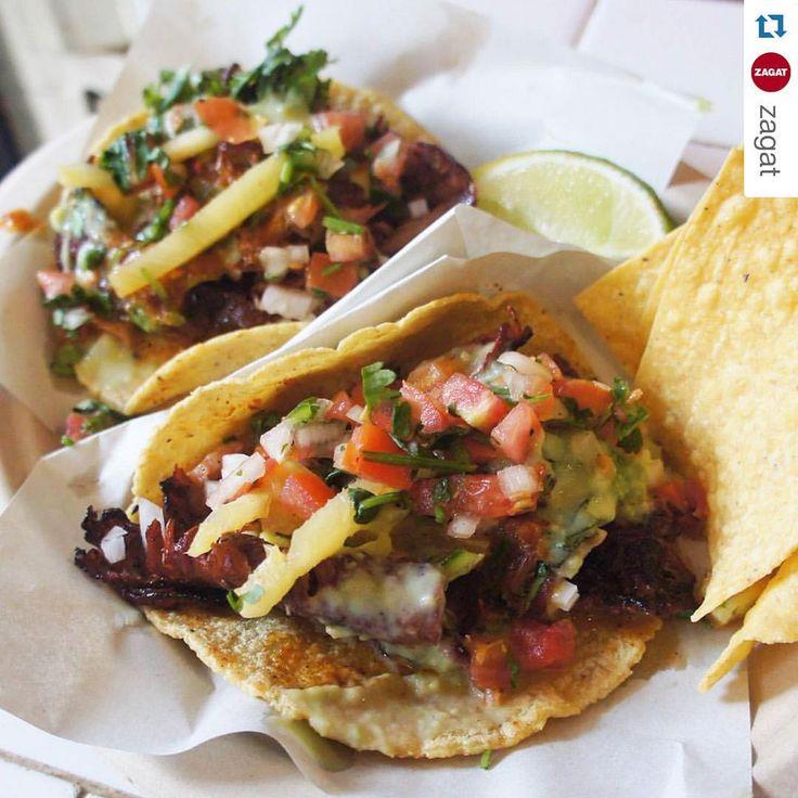 Los Tacos No. 1 Stand inside Chelsea Market