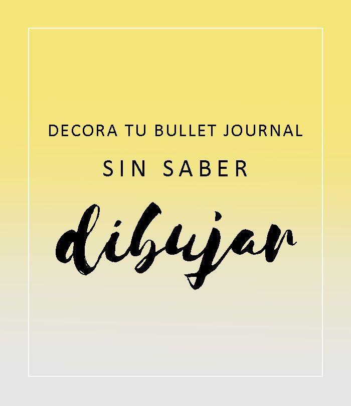 En este post os os enseñaré seis  técnicas para decorar vuestro Bullet Journal con tres materiales diferentes. No tienes por que ser una ar...