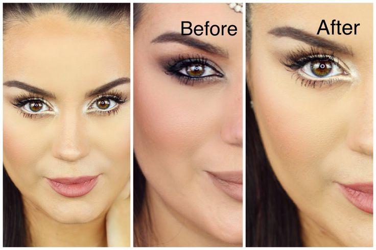 HOW TO: Make EYES Look BIGGER ♡ Neutral Smokey Eye Makeup Tutorial