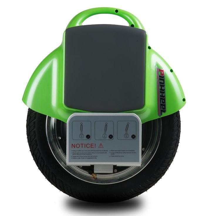 Wholesale PINWHEEL T1 Electric Self Balancing Unicycle Single Wheeled Electric Vehicle Smart Electric Unicycle – green