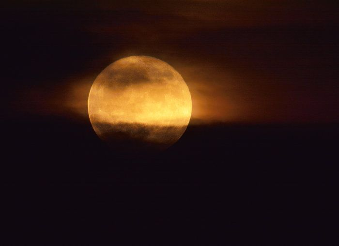 Super Spooky Super Moon by Mark Polson on Capture Minnesota // Had a 13 minute window about a half hour after moonrise to capture this burning moon before it slipped behind the clouds again.