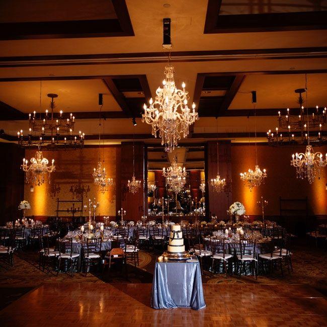 Elegant Winter Wedding Reception // Autumn Burke Photography // Location: Four Seasons Resort Vail // http://www.theknot.com/weddings/album/an-old-world-winter-wedding-in-vail-colorado-136520