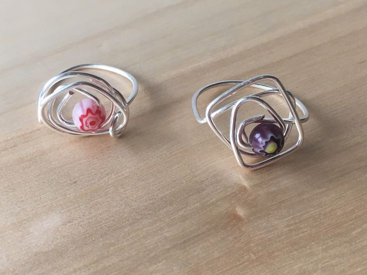 A personal favourite from my Etsy shop https://www.etsy.com/uk/listing/494629958/silver-wire-wrap-rings-with-centre
