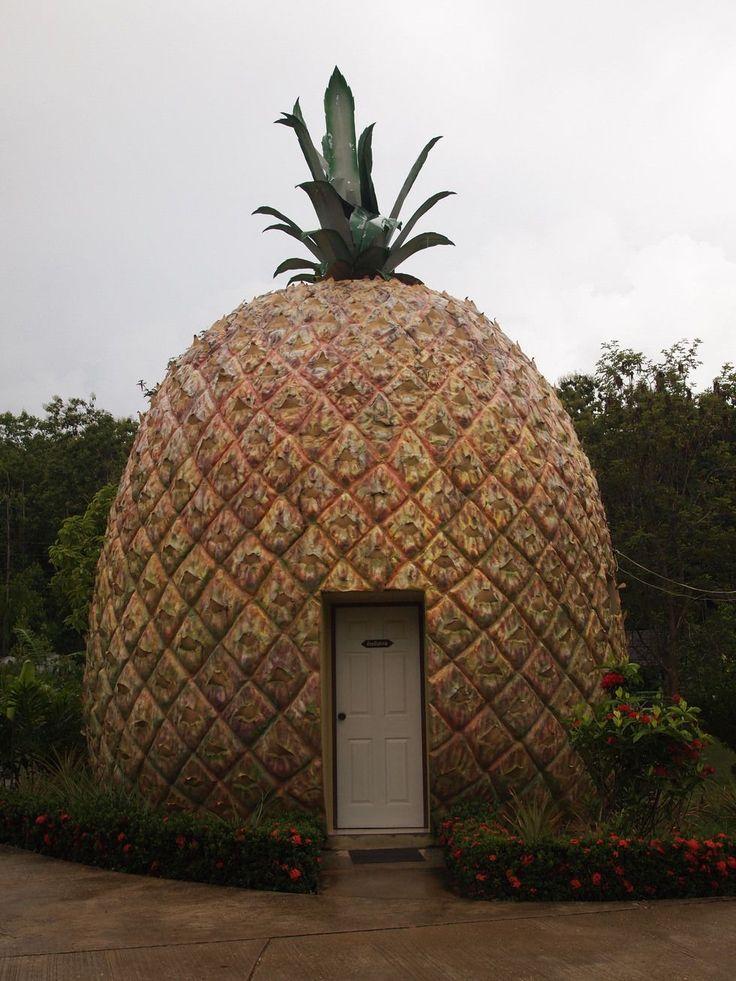 pineapple / Fruitthemed Hotel Resort in Thailand Let's