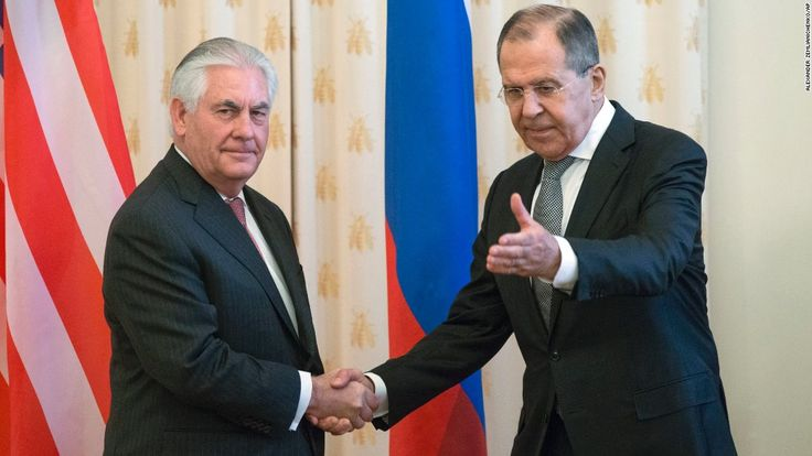 Russian Foreign Minister Sergey Lavrov began a meeting with his US counterpart Rex Tillerson in Moscow with a warning -- do not strike the Syrian regime again.