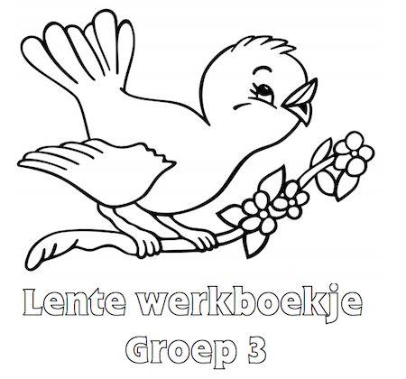 Lente Werkboekje Groep 3
