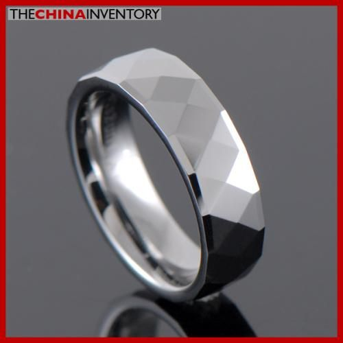 6MM SIZE 6.5 TUNGSTEN CARBIDE WEDDING BAND RING R2604