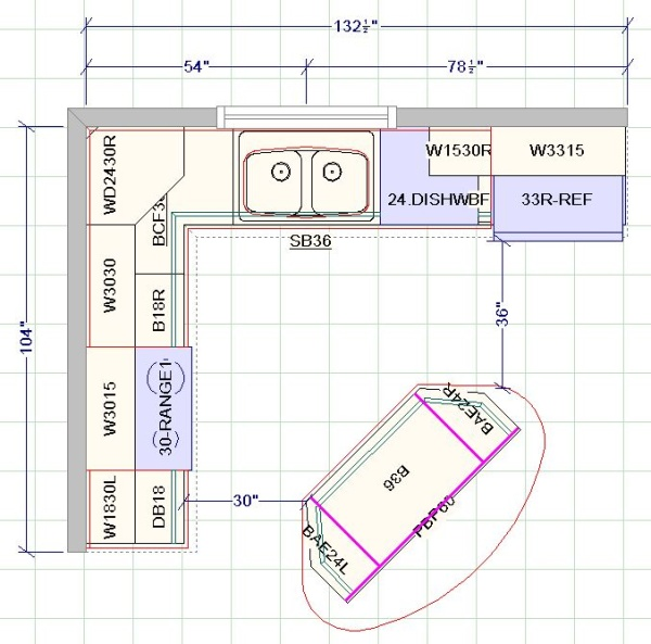 Kitchen Design With Angled Island Drawing Board Pinterest The O 39 Jays Blog And Kitchen Designs