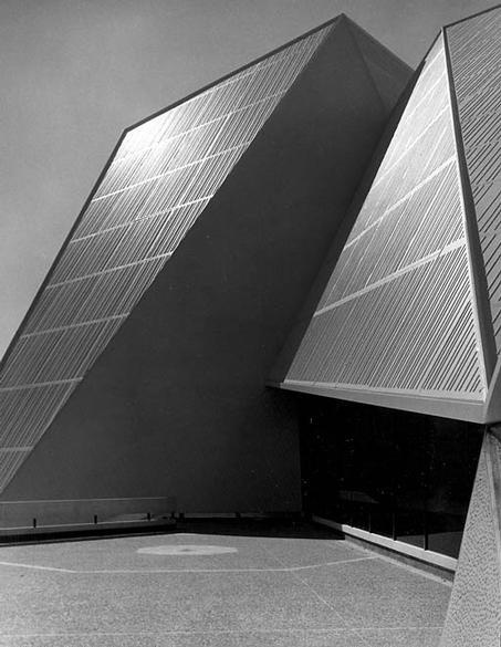 Adelaide Festival Centre. Adelaide, South Australia 1973.  Photograph by Wolfgang Sievers.
