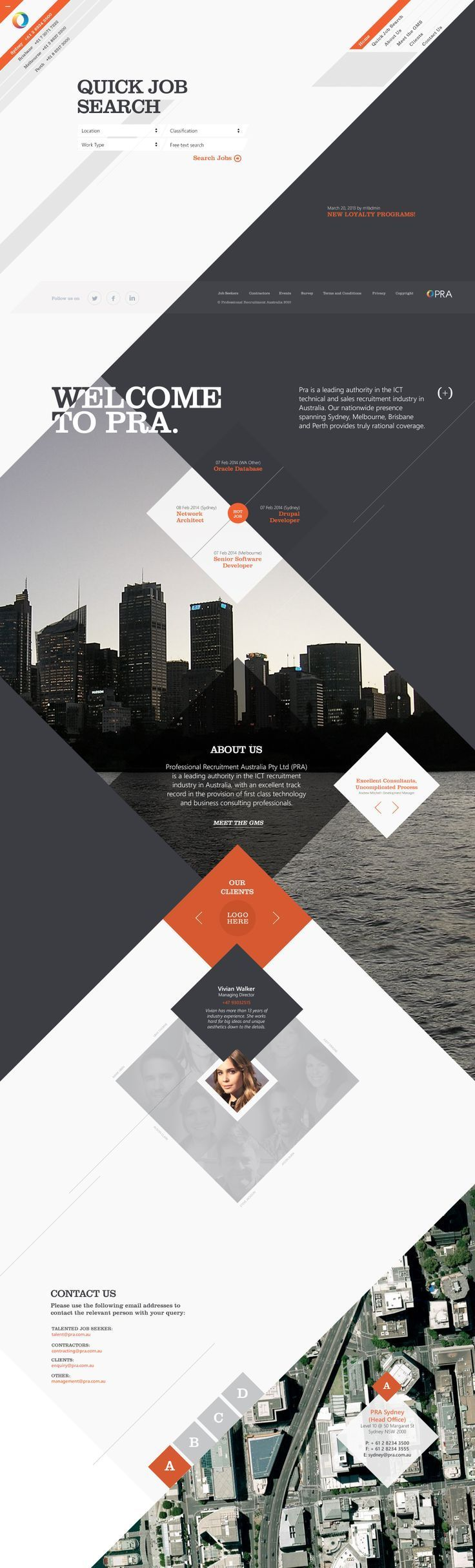 20+ Best Website Designs for Inspiration! Creative Stuff  Latest News & Trends on #webdesign | http://webworksagency.com