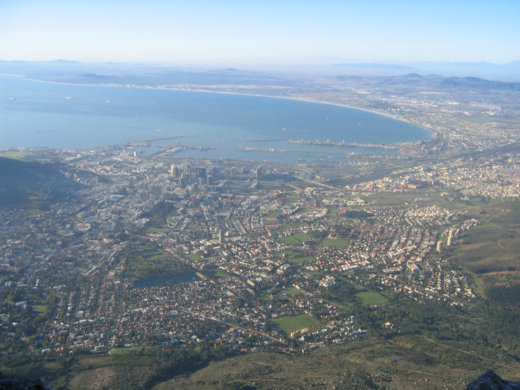 Cape Town from Table Mtn
