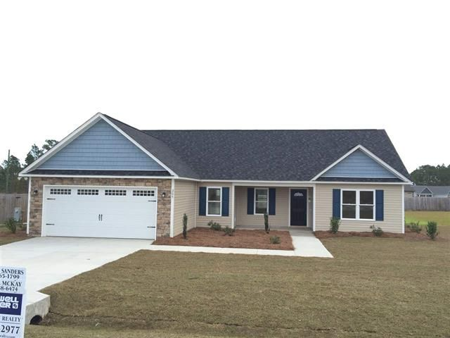 Check out this new construction in Hubert. 3 beds 2 baths and listed for just  $176,900. This new home is beautiful!!! Please call or text me today for more details AND to schedule your VIP tour! 910-388-6474  Krystal McKay Broker Coldwell Banker Fountain Realty McKay-Homes.com