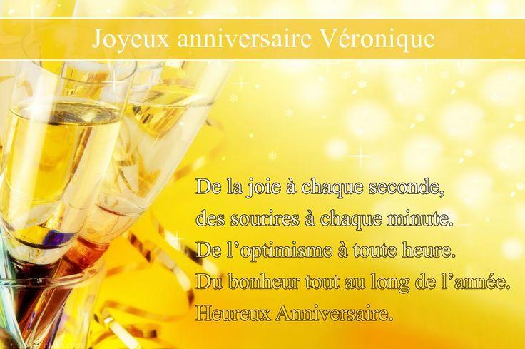 Cartes virtuelles joyeux anniversaire Véronique