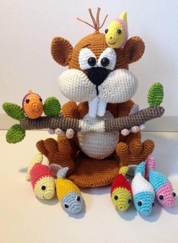 6818 best Häkelwand images on Pinterest | Crochet dolls, Crochet ...
