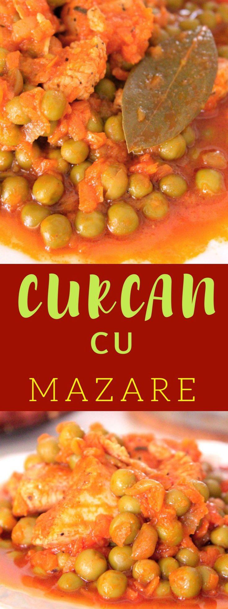 MAZARE CU PIEPT DE CURCAN - Pregateste rapid o masă gustoasă pentru intreaga familie cu aceasta reteta de mazare cu piept de curcan! Ușor de pregătit și chiar mai ușor de gătit, cina perfectă din timpul saptamanii!