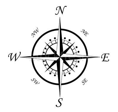 Stock photo: Compass symbol