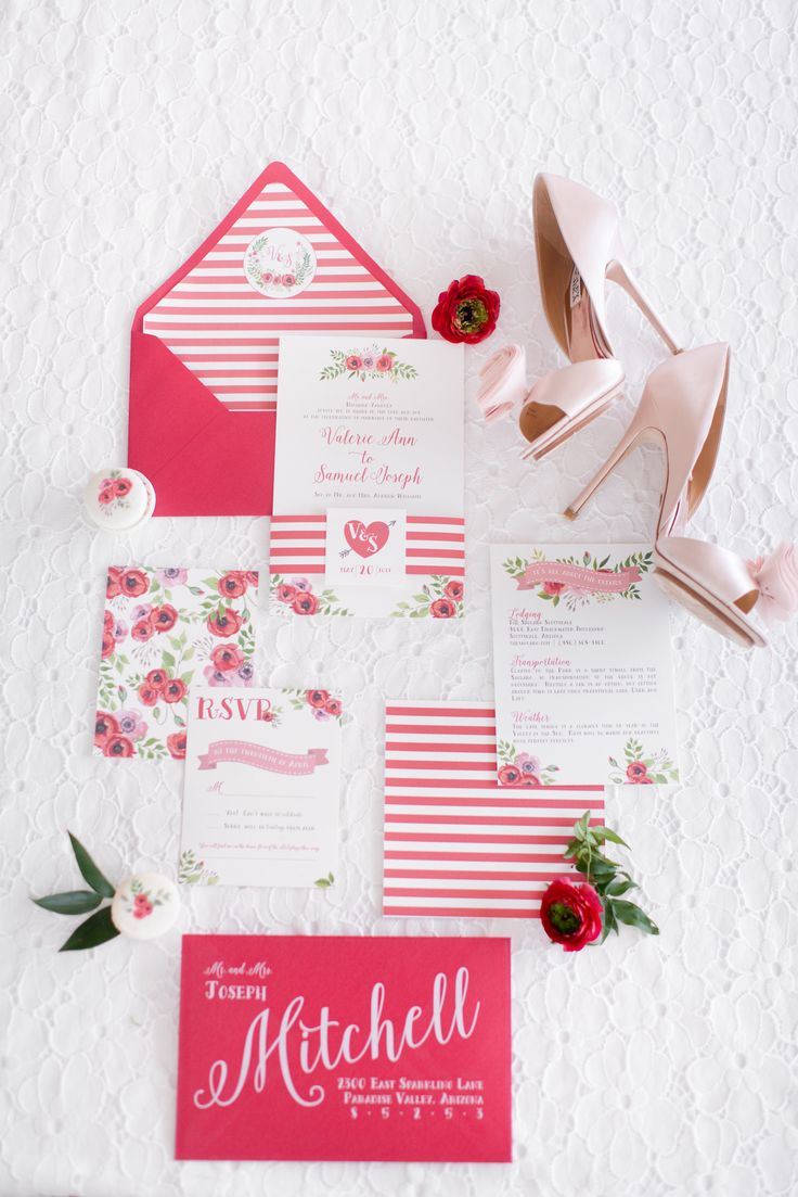 realtree wedding invitations%0A Red Poppy Modern Wedding at Clayton on the Park  Photos by Amy and Jordan