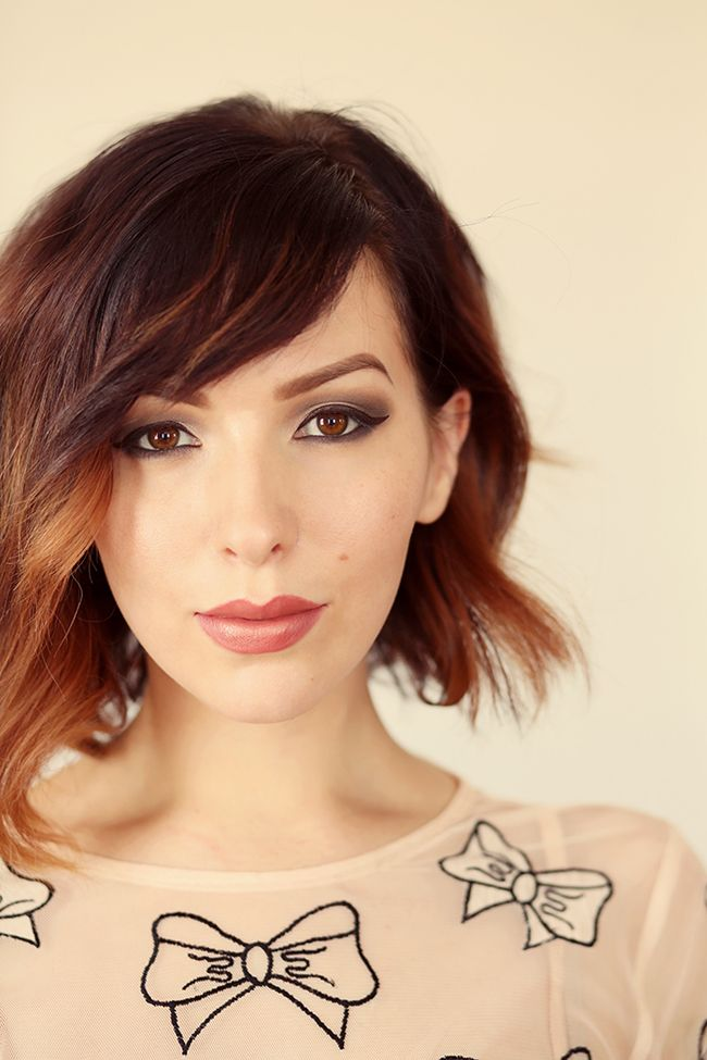 Enhance your daytime makeup w/ this pretty & feminine look. Keiko Lynn uses chocolate hues on her eyes & a pretty pink for her lips. Great for date night!