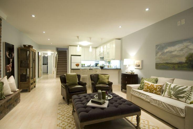 Die besten 25+ geräumiges Wohnzimmer Ideen auf Pinterest - wohnzimmer mit offener küche gestalten
