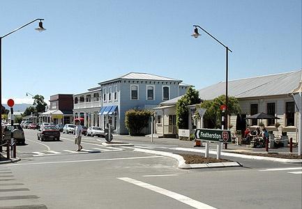 Beautiful downtown Martinborough, NZ
