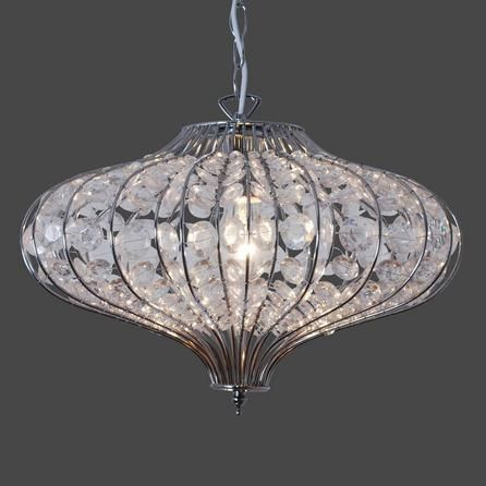 Elsie 1 Light Ceiling Fitting | Dunelm