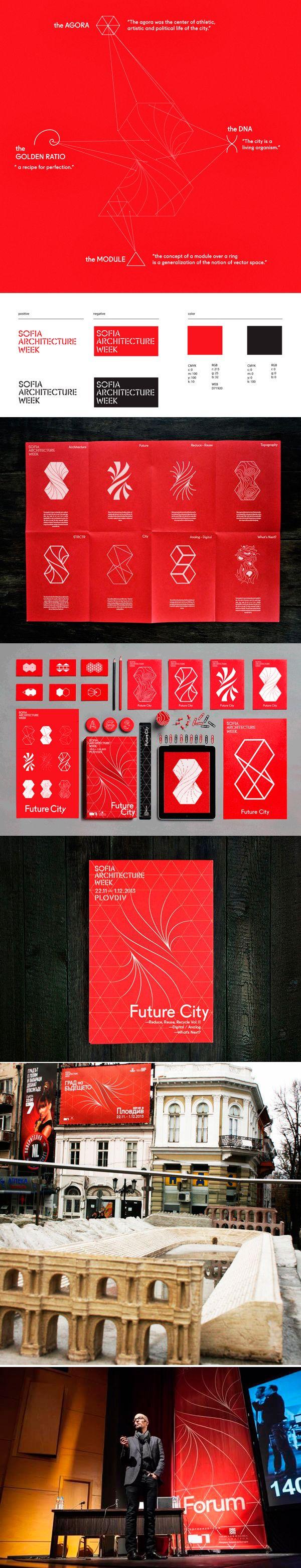 identity / Sofia Architecture Week 2014 http://www.arcreactions.com/calgary-marketing-blog/