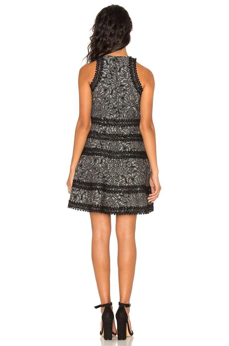 Parker Garnet Dress в цвете Черный | REVOLVE