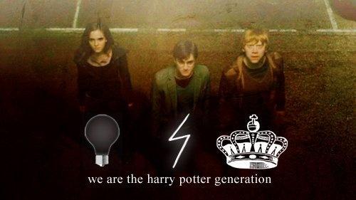 The Harry Potter generation: Generation Hp, Generation Wuuuddduuupppp, Potter 333, Generation Hee, Harry Potter Obsession, Generation Always, Harry Potter3, Harry Potter 3, Hp 3