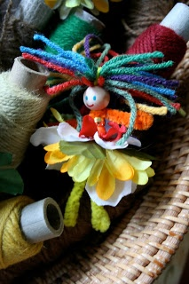 * EASY Kid Craft: Pipe Cleaner Flower Fairies