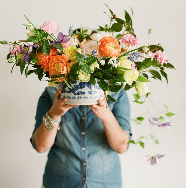 DIY Dutch Floral Arrangement