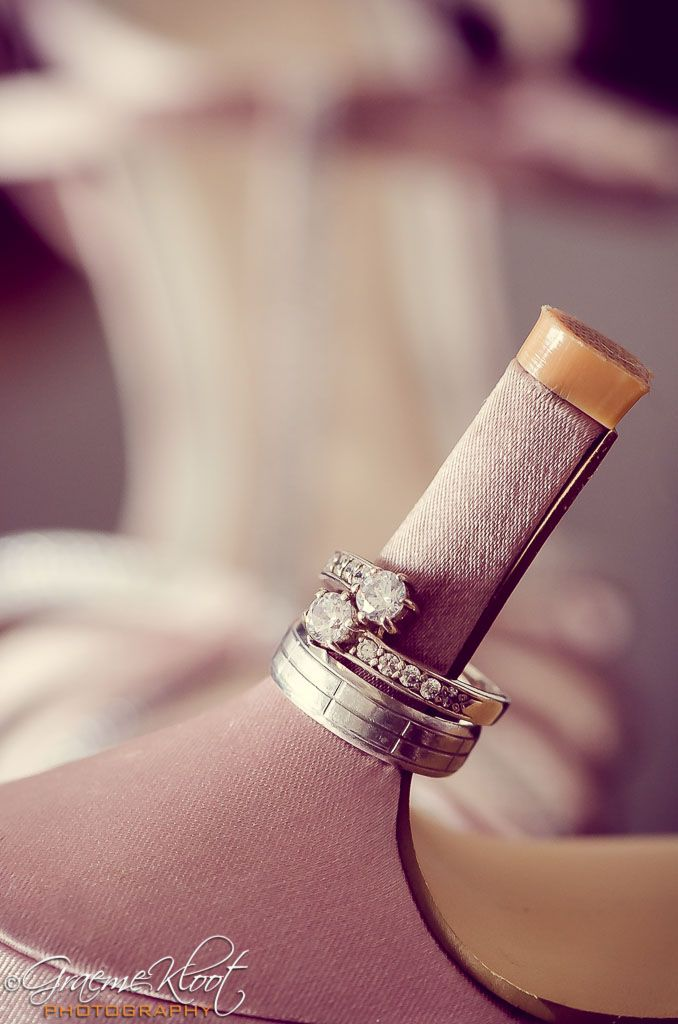 Wedding bands & high heels