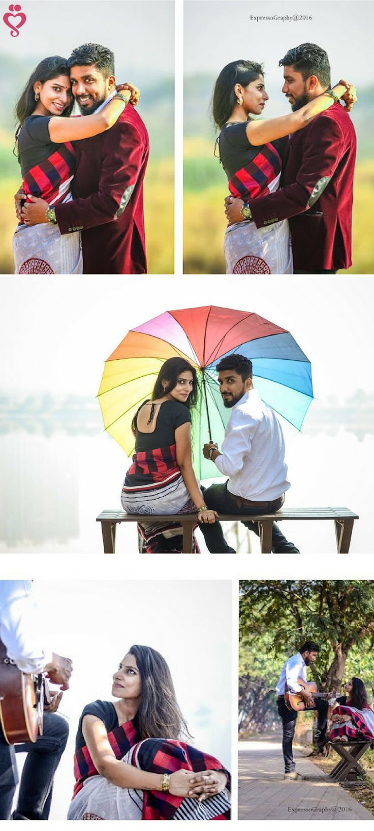 Love Story Shot - Bride and Groom in a Nice Outfits. With colorful umbrella they on pre-wedding shoot. Best Locations WeddingNet #weddingnet #indianwedding #lovestory #photoshoot #inspiration #couple #love #destination #location #lovely #places