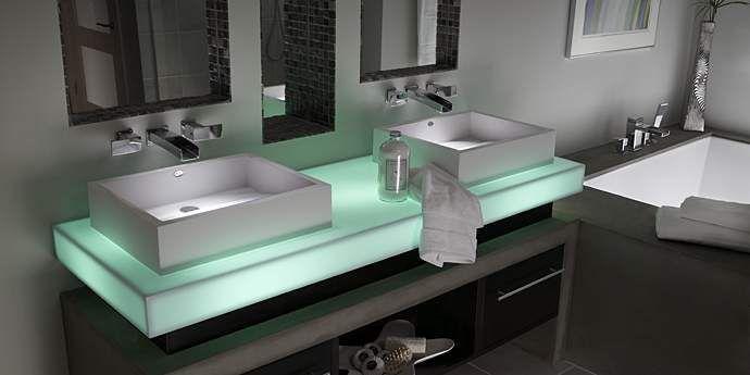 Contemporary Lighting   Corian®   DuPont USA