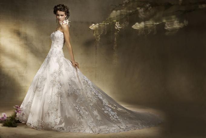 100 best fairy wedding dresses images on Pinterest | Wedding frocks ...