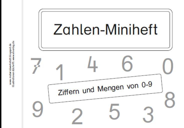 Zur Zeit erstelle ich zu den Ziffern und Mengen von 0-9 ein kleines Übungsheft. Es gibt jeweils eine Seite zum Nachspuren und Schreiben de...