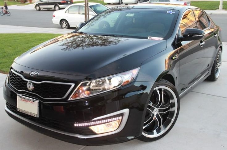 Kia Optima Rims 2011 Kia Optima Hybrid W Rims