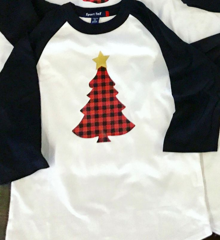 This Black and whitw Raglan has an adorable buffalo plaid print tree design with gold star. Would even make cute Christmas Pjs. Star can be removed by request. Shirts are unisex and run slightly on the larger end of true to size. Be sure to check out my other buffalo plaid designs for the family. Bulk discounts, larger sizes, and custom orders available upon request. All orders are handmade and therefore no two products will be exactly the same.