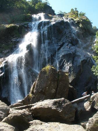 Ireland Powerscourt Waterfalls