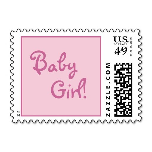 308 best New Baby Postage Stamps images on Pinterest Stamps - baby shower invitation letter