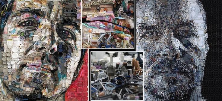 Recuperar art amb productes reciclats