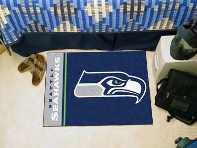"NFL - Seattle Seahawks Uniform Inspired Starter Rug 19""x30"""