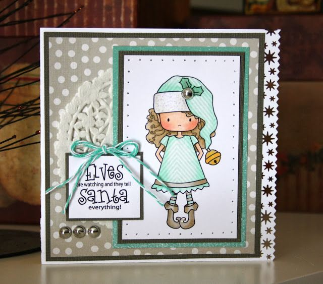 Digital Image is Hiding Elfie by Whimsie Doodles