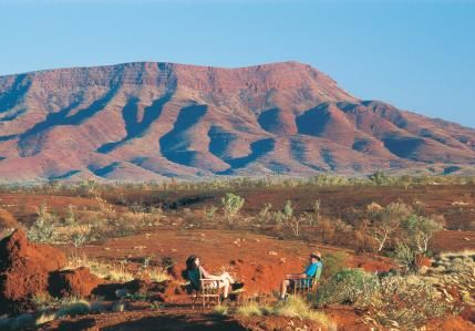 Hiking spectacular gorges and then kicking back with a beer at the end of the day to watch the sunset over the ranges in Karijini National Park is high on my National Park Bucket List! Tourism Western Australia
